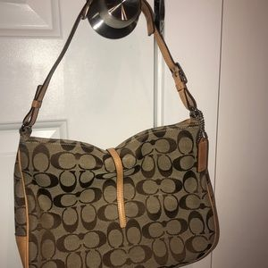 Coach Bags - Signature brown Coach bag, never used